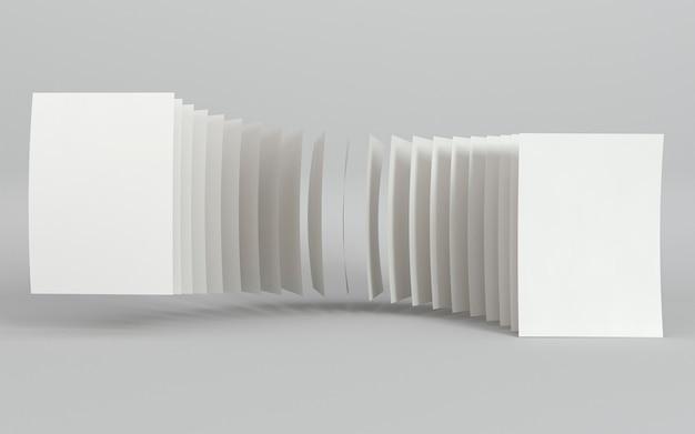 Leeres firmenkopienraum-visitenkarten-abstraktes konzept