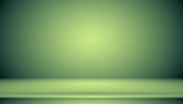Leeres green studio gut als hintergrund, website-vorlage, rahmen, geschäftsbericht verwenden.