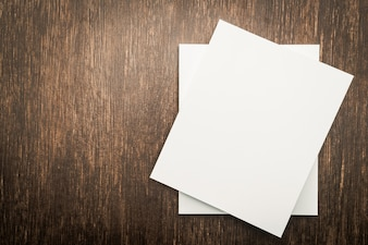 Leeres weißes Spott herauf Buch