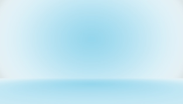 Leerraum des abstrakten hintergrunds des blauen gradienten