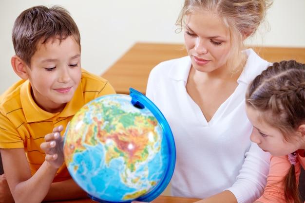 Lehre geographie