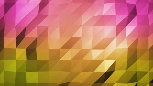 Leichte mehrfarbige polygonale darstellung, die aus dreiecken besteht. dreieckiges muster für ihr geschäftsdesign.