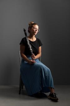 Leidenschaftlicher musiker feiert jazz-tag