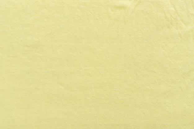 Leinen textur hintergrund textilmuster hintergrund stoff stoff. gelb.