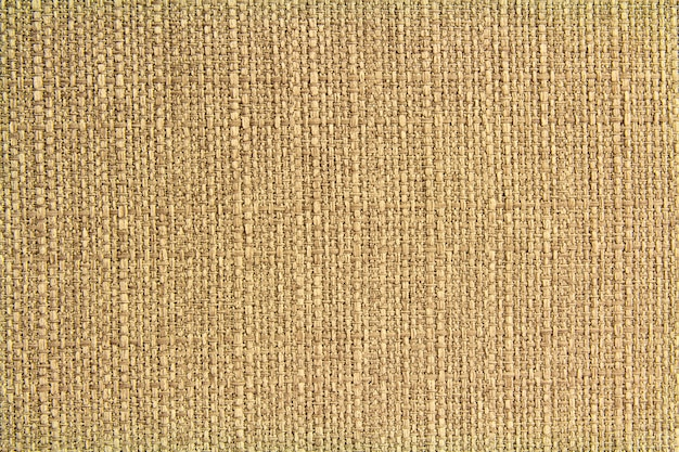 Leinenstruktur aus natürlichem stoff für design, sackleinenstruktur. brauner leinwandhintergrund. baumwolle.