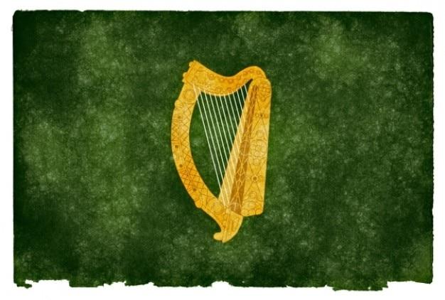Leinster grunge flag