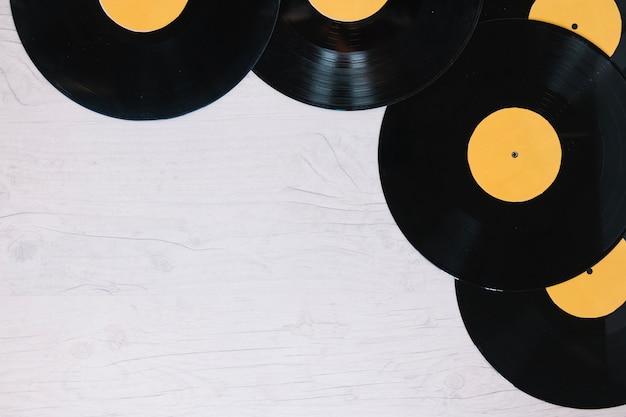 Leiter der vinyl-schallplatten