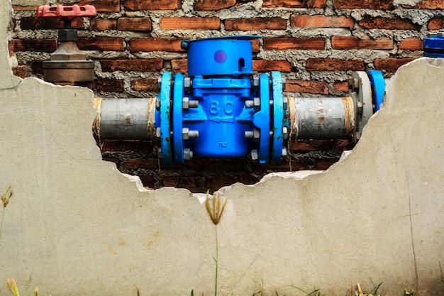 Leitungswasser, das in haushaltsprodukten verwendet wird.
