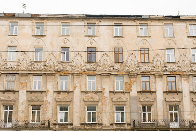 Lemberg, ukraine. oktober 2019. architektur der altstadt