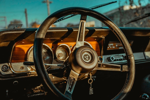 Lenkrad eines autos