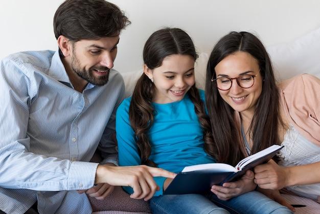 Lesezeit für die familie