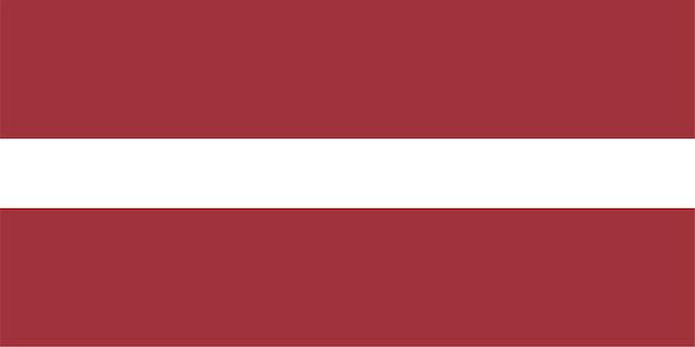 Lettische flagge lettlands