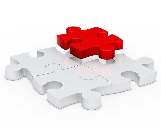 Letzte stück des puzzles