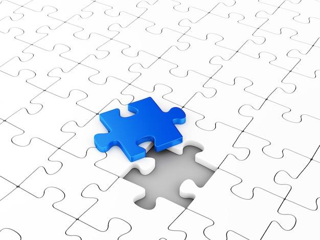 Letztes puzzle-element