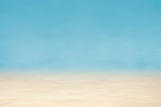 Leuchtend blauer und beigefarbener hintergrund