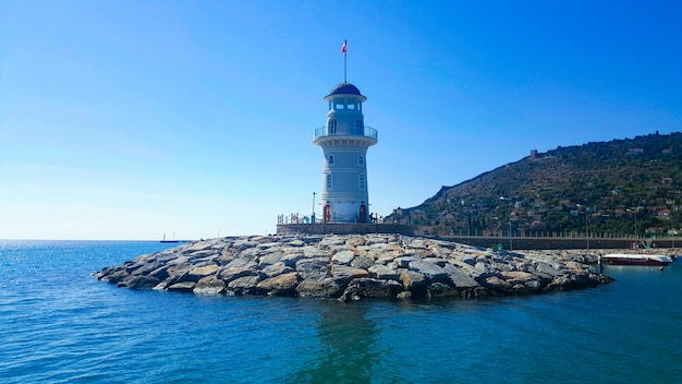 Leuchtturm im hafen