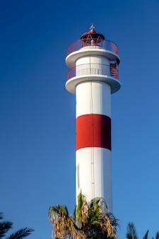 Leuchtturm in rota, cadiz, spanien