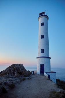 Leuchtturm von cape home in galizien