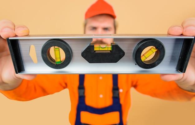 Level-tool stoßfestes level-konzept der baurenovierung bauarbeiten reparaturgebäude