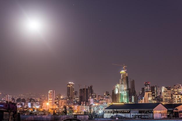 Libanon beirut stadt skyline