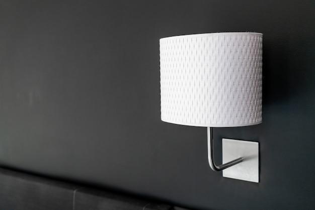 Licht lampendekoration im schlafzimmer