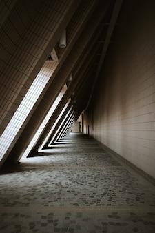 Licht und schatten des hong kong cultural center