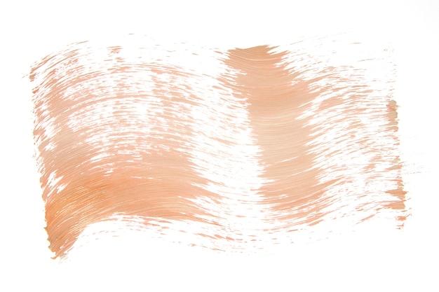 Lichtausstriche der farbe auf weiß