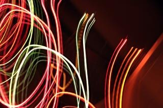 Lichteffekt, glühen, abstrakt, flash