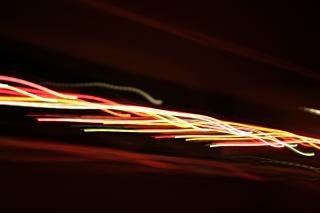Lichteffekt, glühen, abstrakt, linien
