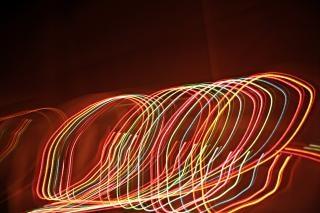 Lichteffekt, glühen, abstrakt
