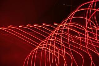 Lichteffekt, licht, abstrakt, glühen