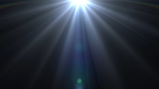 Lichter flackern das helle hintergrundglühen auf