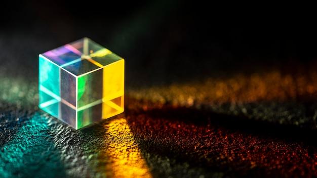 Lichtstreuung und optisches effektprisma Kostenlose Fotos