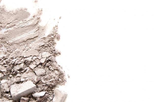 Lidschatten-kosmetikpuder zerstreut