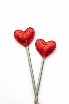 Liebe zauberstab. valentinstag konzept.