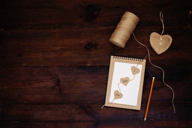 Liebeserklärung. valentinstag bastelkarten ideen