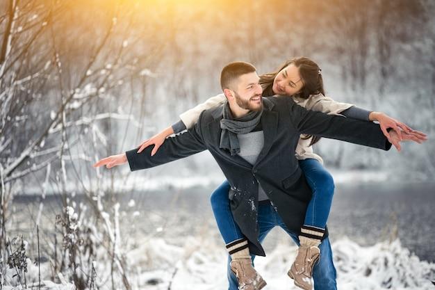 Liebesgeschichte im winter