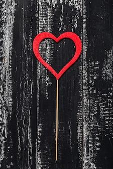 Liebeskonzept für valentinstag. valentinstag. liebe. valentinstag grußkarte.