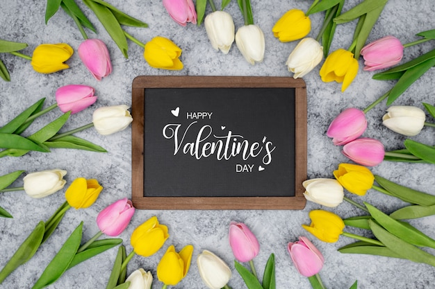 Liebevolle valentinsgrüße