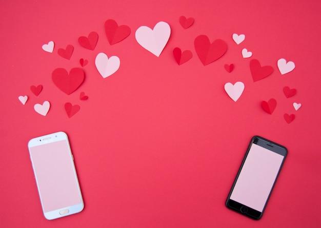 Liebhaber rufen - st. valentine concept