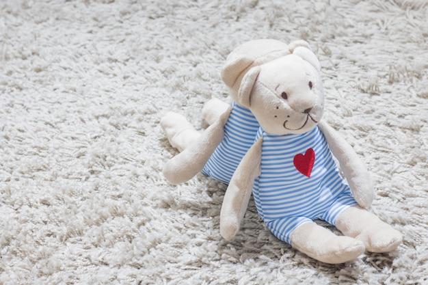 Liebhaber-teddybären am valentinstag