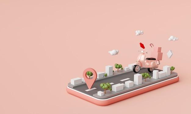 Lieferservice für mobile anwendungen