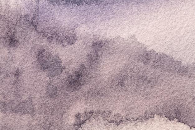 Lila farben des hintergrunds der abstrakten kunst. aquarellmalerei auf leinwand mit weichem violettem farbverlauf.
