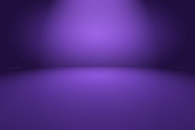 Lila hintergrund des abstrakten leeren lichtgradienten