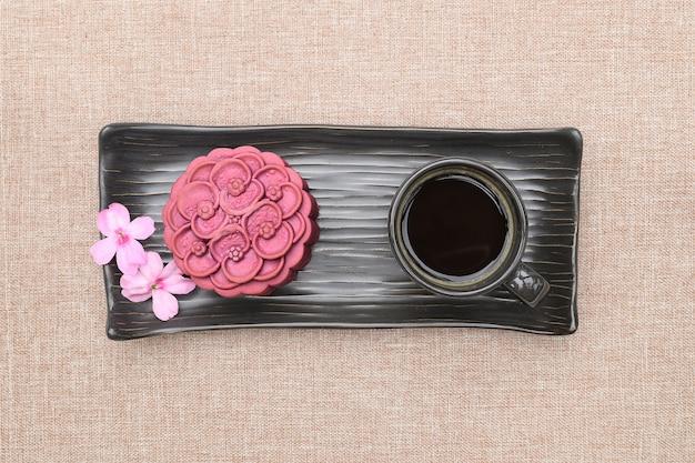 Lila japanische marmelade