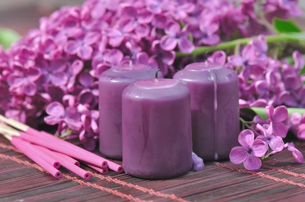 Lila parfüm