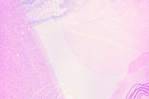 Lila und rosa aquarell-stil hintergrunddesign