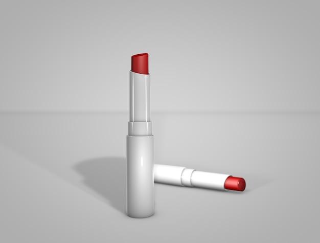 Lippenstift des modells 3d