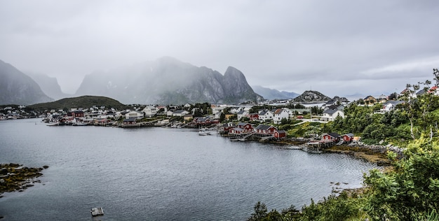 Lofoten in norwegen