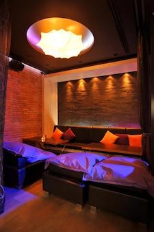 Loft bar dekorationsstil